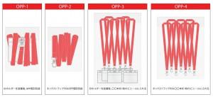 ネックストラップの包装方法